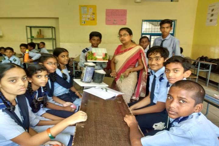 Vignan Vidyalayam High School-Science Activity