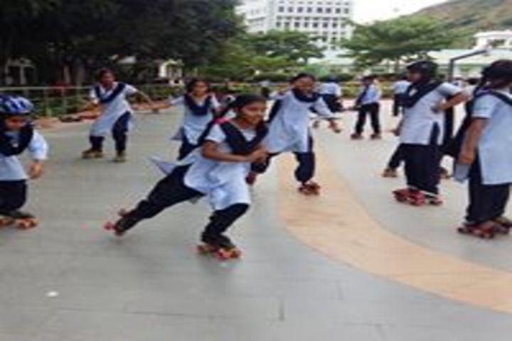 Vignan Vidyalayam High School-Skating