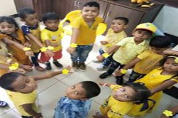 Vignan Vidyalayam High School-Yellow Day