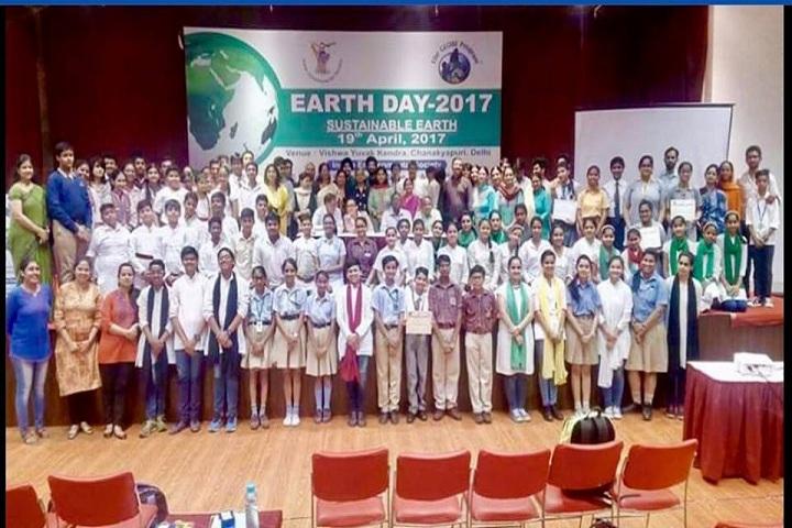 Rashtra Shakti Vidyalaya-Earth Day Event