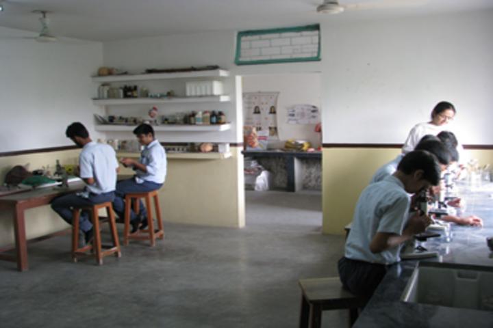 Rashtra Shakti Vidyalaya-Biology Lab