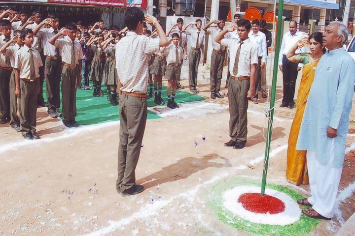 Vijayam Techno School-Independence Day