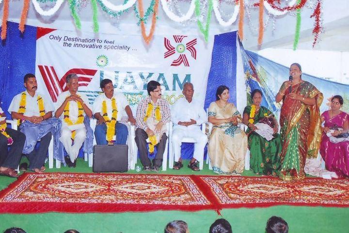 Vijayam Techno School-Teachers Day