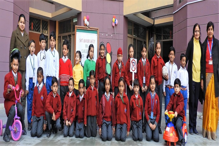 Red Roses Public School-Road Safety Activity