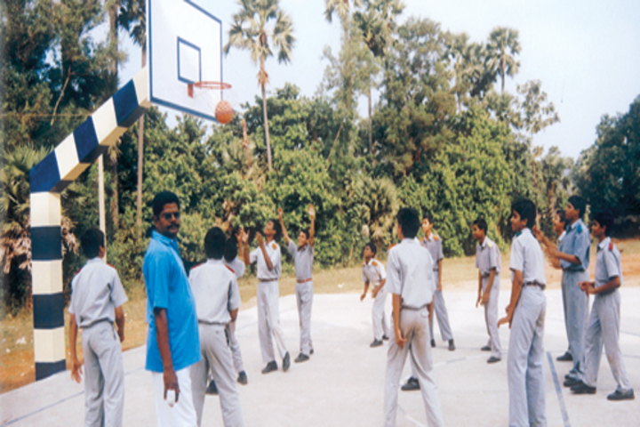 Vijnana Vihara Residential School- Basket Ball