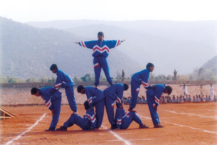 Vijnana Vihara Residential School- Yoga Day