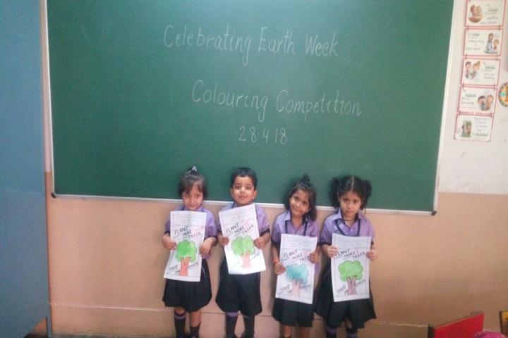 S D Public School-Earth week