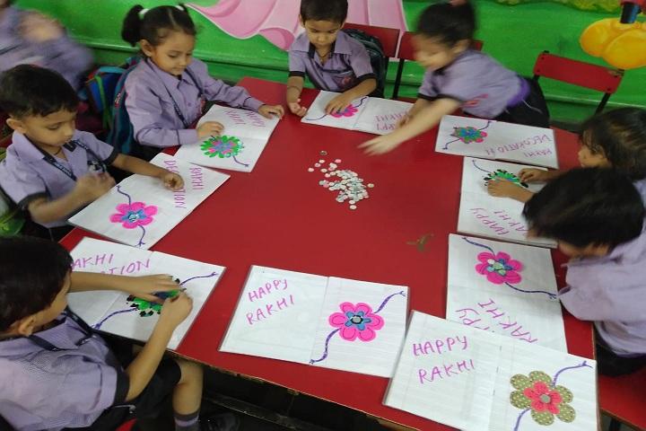 S D Public School-Rakhi celebrations