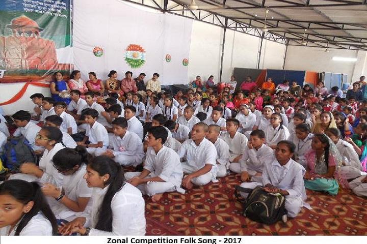 S D Public School-Zonal competition
