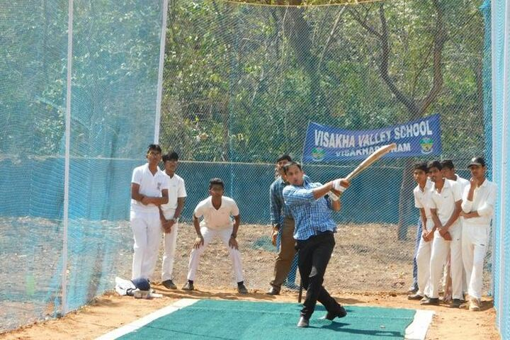 Visakha Valley School- Cricket Pitch