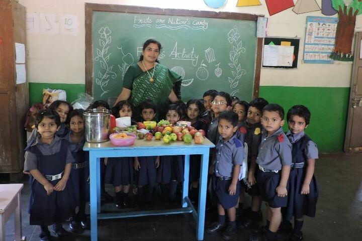 Visakha Valley School- Fruits Day
