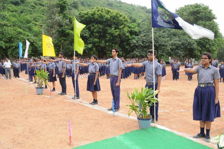 Visakha Valley School- Investiture Ceremony