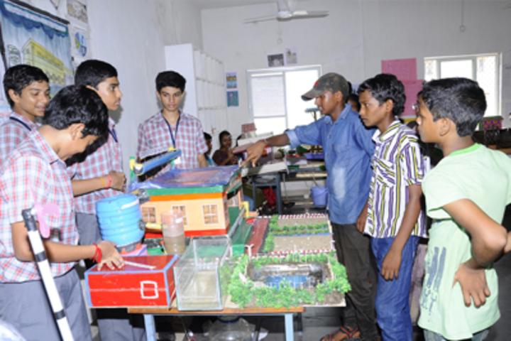 Vishnu School - Science Exhibition