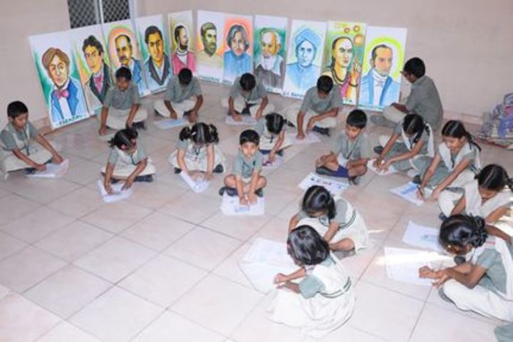 Vishnu School- Art and Craft