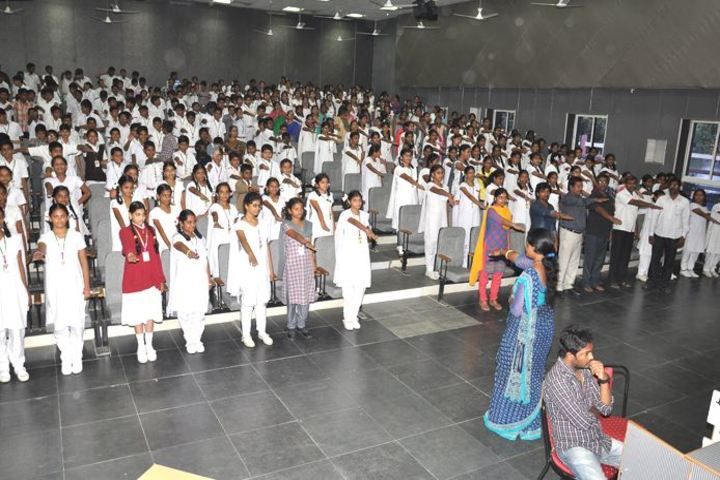 Vishnu School- Oath Ceremony