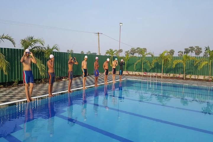 Viswabharathi Wisewoods High School- Swimming Pool