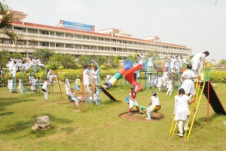 Viswasanti English Medium High School-Play Ground