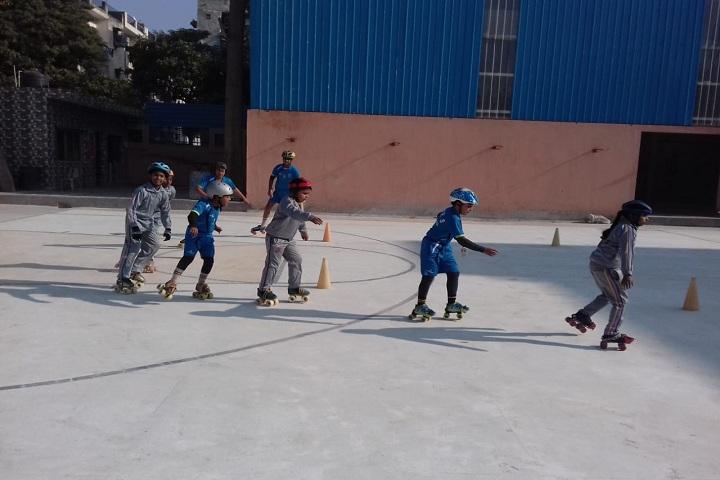 Sanatan Dharam Public School-Skating
