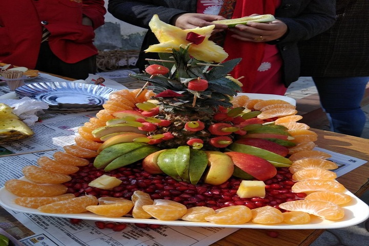 Sanskar Convent School-Cookery show