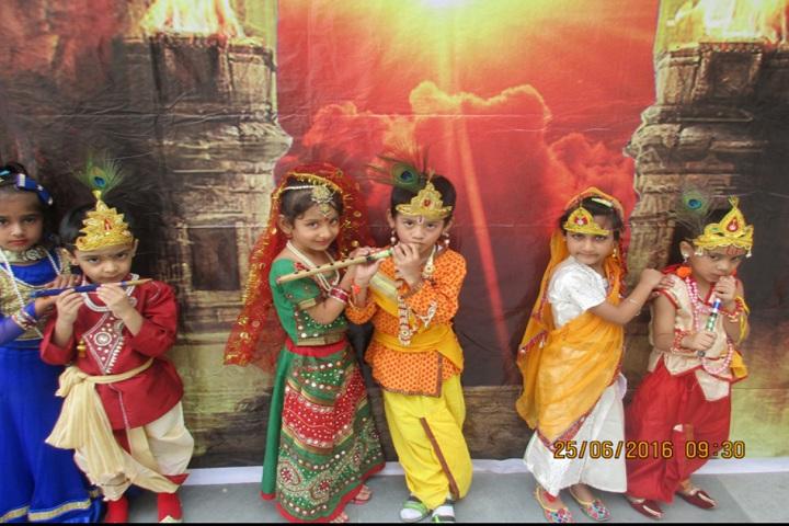 Sant nirankari public school avtar enclave-janmashtami celebrations