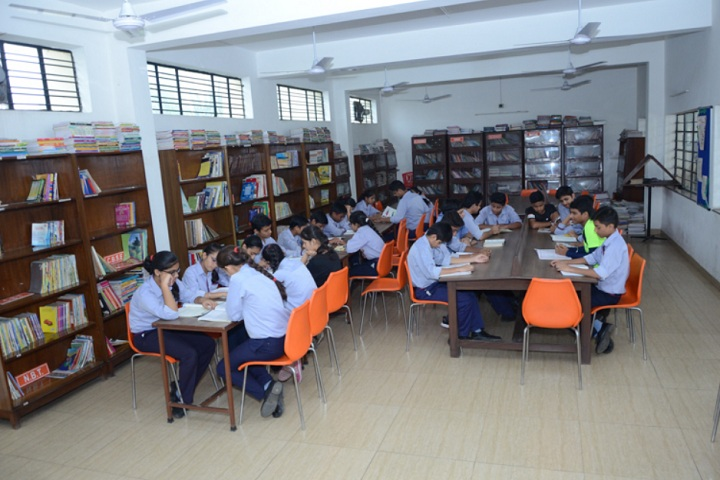 Sant nirankari public school avtar enclave-library