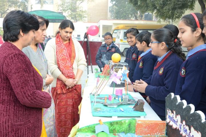 Sant nirankari public school avtar enclave-science exhibition