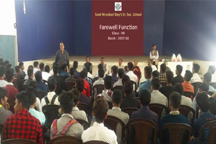 Sant Nirankari Boys Senior Secondary School-Farewell Function