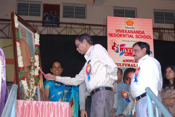 Vivekananda Residential School-Pooja