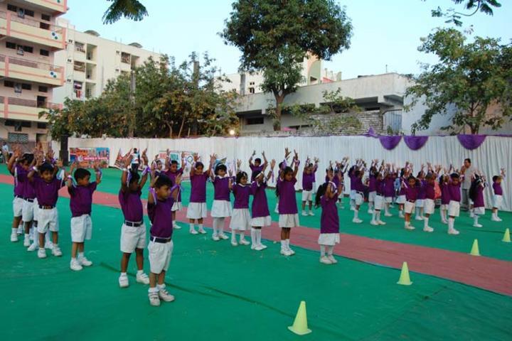 Vivekananda Residential School-Sports Day