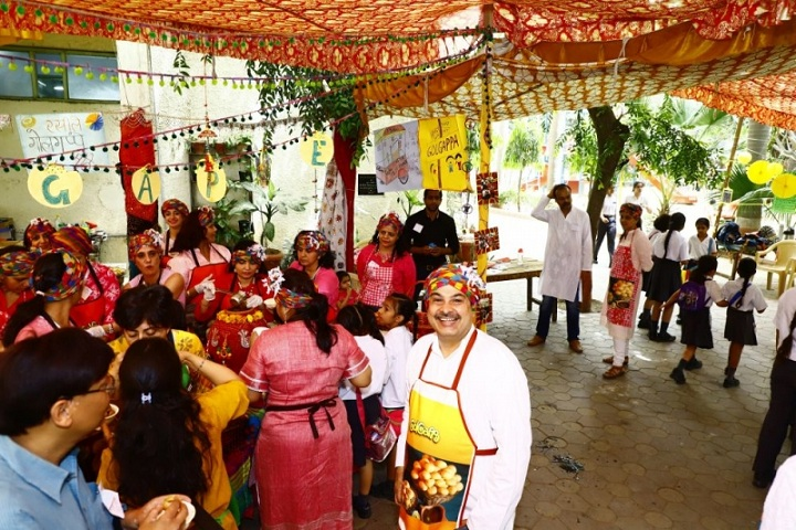 Sardar Patel Vidyalaya-Food Festivals