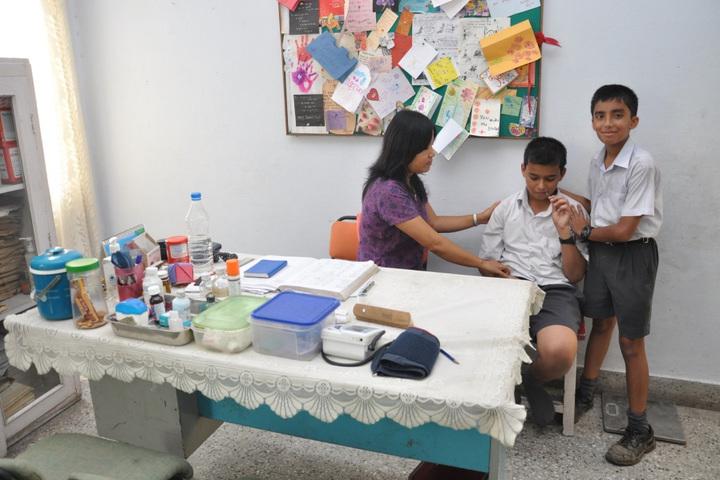 Sardar Patel Vidyalaya-Medical Room