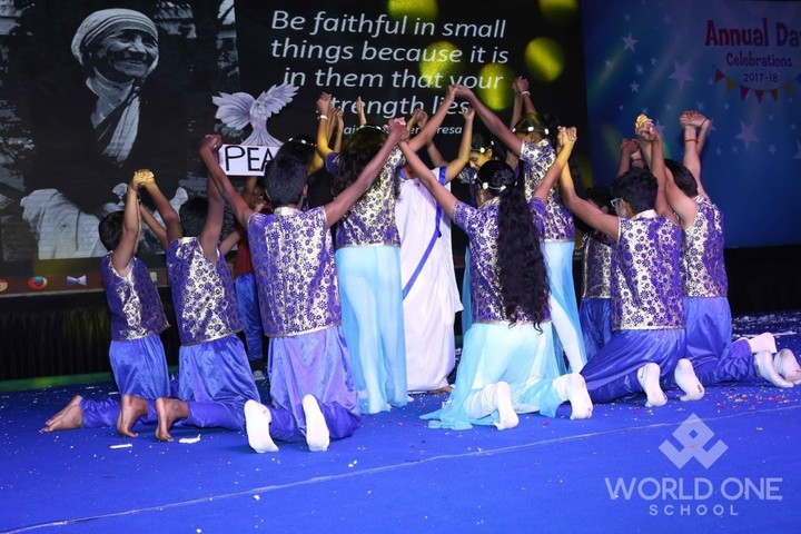 World One School-Annual Day