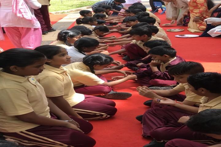 World One School-Rakhi Celebration