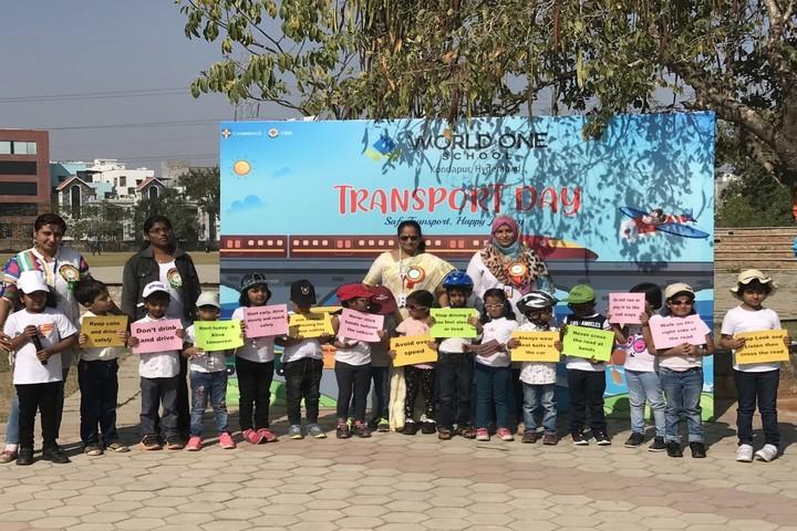 World One School-Transport Day