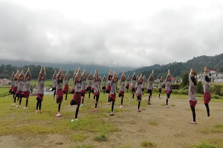 Blue Pine Residential English School-Yoga
