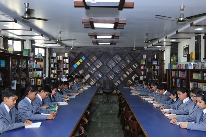Shah International Public School-Library