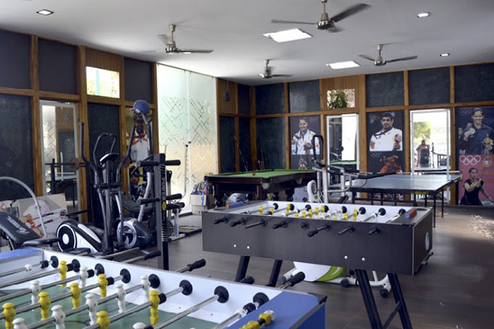 Shah International Public School-Sports Room