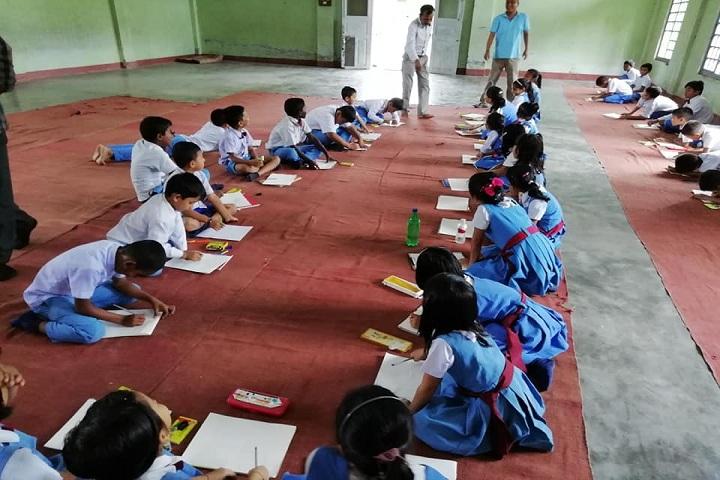 Chow Nanda Memorial School-Drawing Class