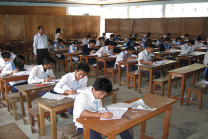 Daying Ering Memorial Government Higher Secondary School-Exam Hall