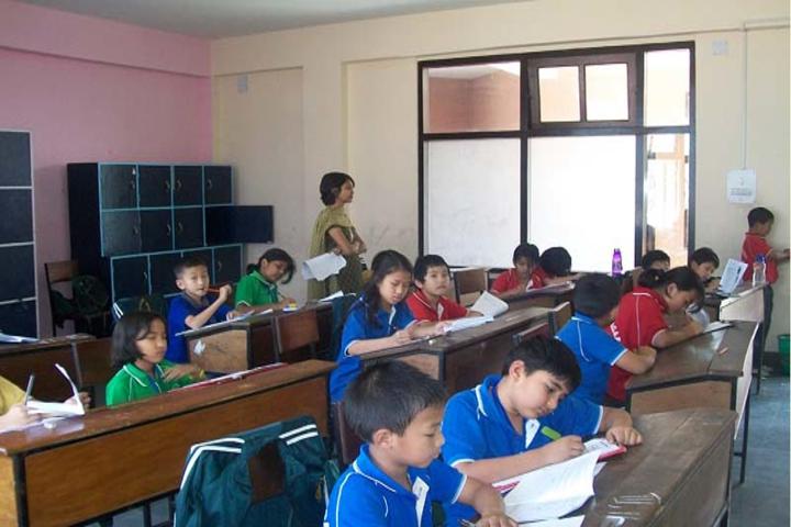 Delhi Public School-ClassRooms