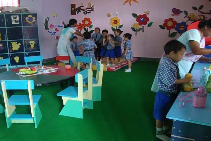 Delhi Public School-Kinder Garden Classes