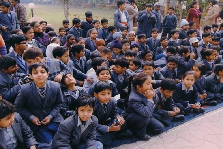South Delhi Public School-School Students