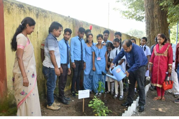 South Eastern Railway Inter College-Tree Plantation