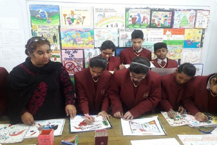 Sri Guru Nanak Public School-Art Work
