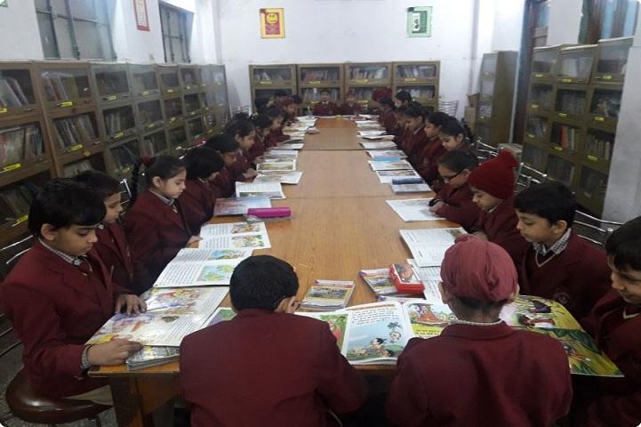 Sri Guru Nanak Public School-Library