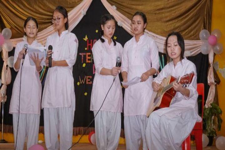 Donyi Polo Vidya Bhawan-Singing