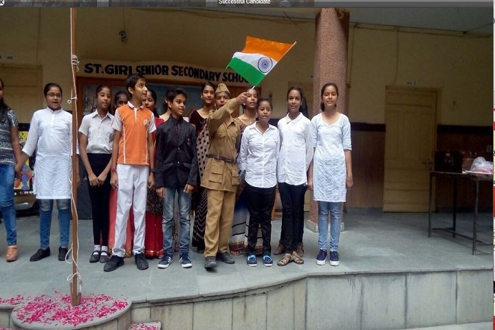 Saint Giri Senior Secondary School-Independence Day