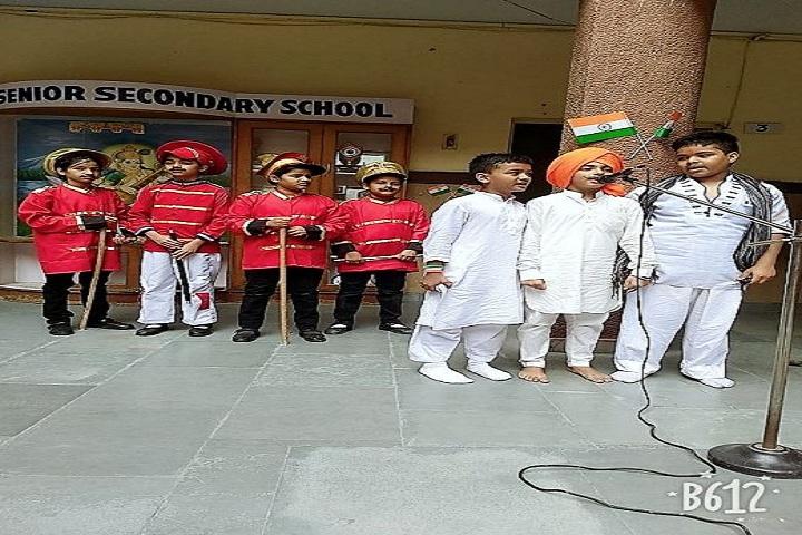 Saint Giri Senior Secondary School-Singing
