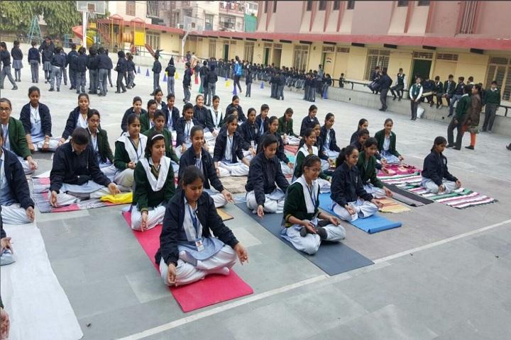 Saint Giri Senior Secondary School-Yoga day