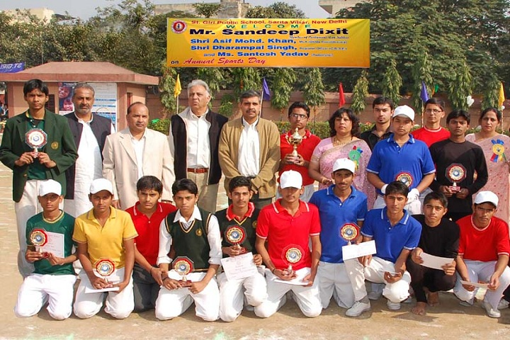 St Giri Public School-Annual Sports